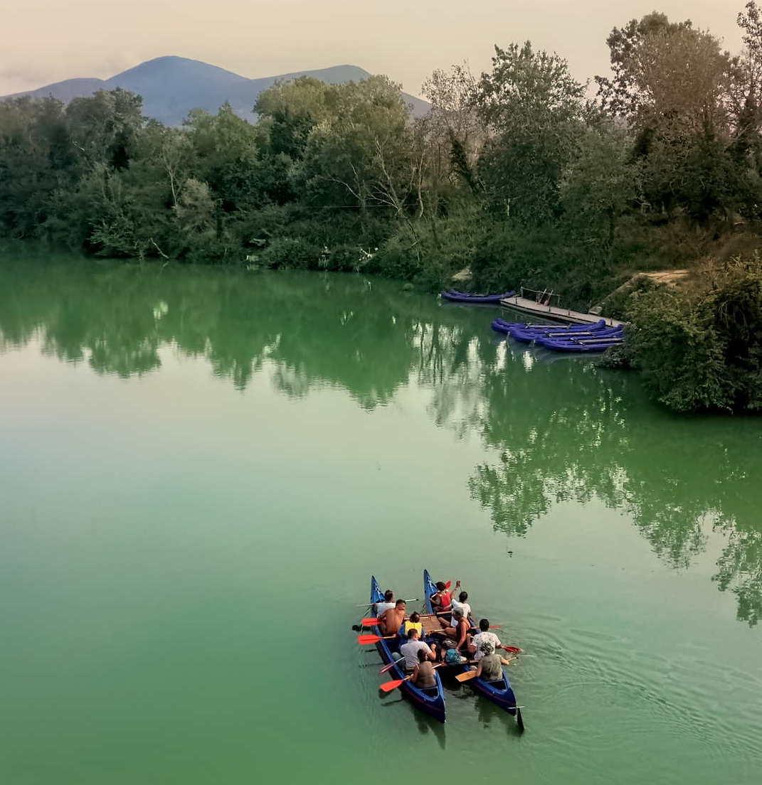 escursioni in canoa in Maremma